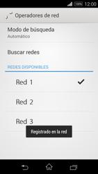 Sony D2203 Xperia E3 - Red - Seleccionar una red - Paso 10
