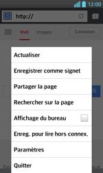LG Optimus L5 II - Internet et connexion - Naviguer sur internet - Étape 7