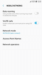 Samsung Galaxy J3 (2017) - Network - Change networkmode - Step 7