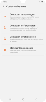 Samsung galaxy-a70-dual-sim-sm-a705fn - Contacten en data - Contacten kopiëren van toestel naar SIM - Stap 6