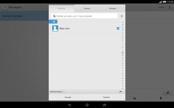 Sony Xperia Tablet Z2 (SGP521) - MMS - envoi d'images - Étape 8