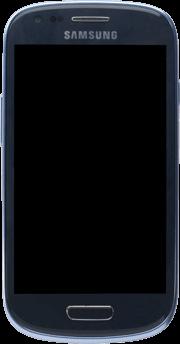 Samsung Galaxy S3 Mini - Premiers pas - Découvrir les touches principales - Étape 4