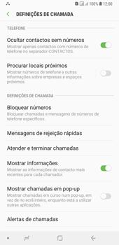Samsung Galaxy A6 Plus DualSim - Chamadas - Como bloquear chamadas de um número -  7