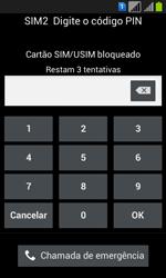 Samsung GT-I8552B Galaxy Win Duos - Funções básicas - Como reiniciar o aparelho - Etapa 4