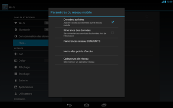 Acer Iconia Tab A3 - Internet - Activer ou désactiver - Étape 6