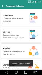 LG K4 (2017) (LG-M160) - Contacten en data - Contacten kopiëren van SIM naar toestel - Stap 14