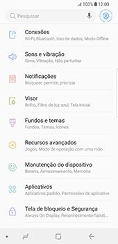 Samsung Galaxy S9 - Internet no telemóvel - Como ativar os dados móveis -  4