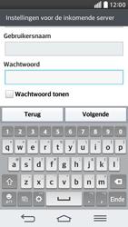 LG D620 G2 mini - E-mail - Handmatig instellen - Stap 13