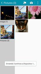 Samsung Galaxy A3 - Bluetooth - Transferir archivos a través de Bluetooth - Paso 13