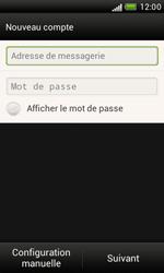 HTC T328e Desire X - E-mail - Configuration manuelle - Étape 7