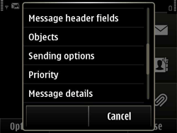Nokia E6-00 - MMS - Sending pictures - Step 11
