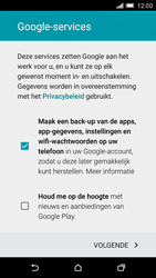 HTC One M9 - Applicaties - Account aanmaken - Stap 14