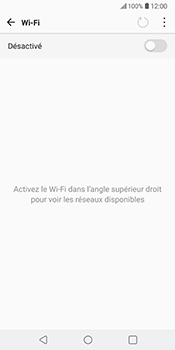 LG V30 - Wi-Fi - Se connecter à un réseau Wi-Fi - Étape 6
