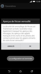 HTC One (M8) - Sécuriser votre mobile - Activer le code de verrouillage - Étape 11