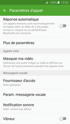 Samsung G925F Galaxy S6 Edge - Messagerie vocale - Configuration manuelle - Étape 6