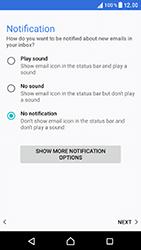 Sony Xperia XZ (F8331) - E-mail - Manual configuration POP3 with SMTP verification - Step 23