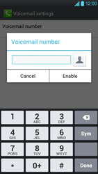 LG P880 Optimus 4X HD - Voicemail - Manual configuration - Step 7