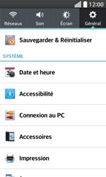 LG F70 - Internet et connexion - Utiliser le mode modem par USB - Étape 5