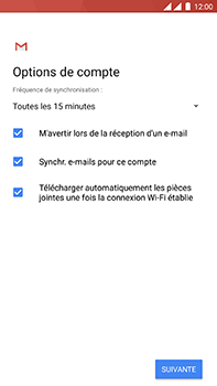 OnePlus 3 - Android Oreo - E-mail - Configuration manuelle (yahoo) - Étape 11