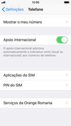 Apple iPhone SE - iOS 11 - Segurança - Como ativar o código PIN do cartão de telemóvel -  4