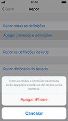 Apple iPhone SE - iOS 12 - Repor definições - Como repor definições de fábrica do telemóvel -  7