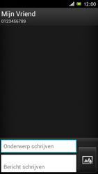 Sony ST26i Xperia J - MMS - afbeeldingen verzenden - Stap 9