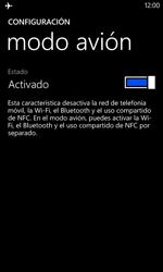 Nokia Lumia 520 - Funciones básicas - Activar o desactivar el modo avión - Paso 6