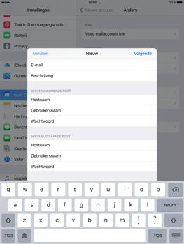 Apple iPad Pro (9.7) - E-mail - Handmatig instellen - Stap 14