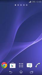 Sony Xpéria E3 - Applications - Personnaliser l