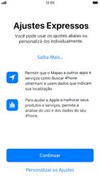 Apple iPhone 7 - iOS 13 - Primeiros passos - Como ativar seu aparelho - Etapa 21