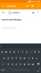 Alcatel Shine Lite - E-mail - Hoe te versturen - Stap 9