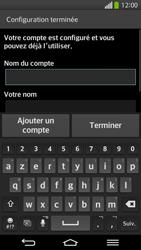 LG D955 G Flex - E-mail - Configurer l