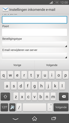 Sony D5803 Xperia Z3 Compact - E-mail - Account instellen (POP3 zonder SMTP-verificatie) - Stap 9