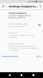 Sony Xperia XZ1 Compact (G8441) - WiFi - Mobiele hotspot instellen - Stap 7