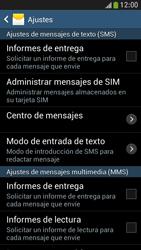 Samsung Galaxy S4 Mini - Mensajería - Configurar el equipo para mensajes de texto - Paso 6