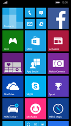 Nokia Lumia 830 - Internet - Examples des sites mobile - Étape 1