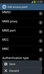 Samsung I8200 Galaxy SIII Mini Lite - Mms - Manual configuration - Step 16