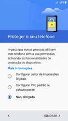Samsung Galaxy A5 (2016) - Android Nougat - Primeiros passos - Como ligar o telemóvel pela primeira vez -  13