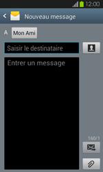 Samsung Galaxy S2 - Contact, Appels, SMS/MMS - Envoyer un SMS - Étape 9
