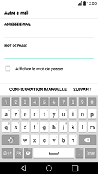 LG X Power - E-mail - Configuration manuelle - Étape 7