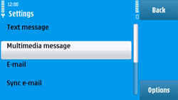 Nokia N97 - MMS - Manual configuration - Step 21