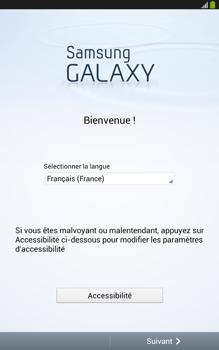 Samsung Galaxy Tab 3 8 4G - Premiers pas - Créer un compte - Étape 2