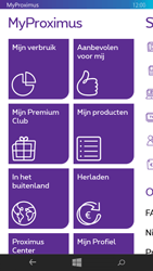 Microsoft Lumia 535 - Applicaties - MyProximus - Stap 19