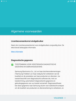 Samsung Galaxy Tab S2 9.7 (T815) - Toestel - Toestel activeren - Stap 6