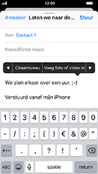 Apple iPhone 5s - iOS 12 - E-mail - hoe te versturen - Stap 10