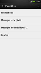 HTC Desire 601 - SMS - Configuration manuelle - Étape 7