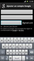 Sony Ericsson Xpéria Arc - Premiers pas - Créer un compte - Étape 11