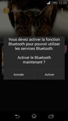 Sony Xpéria E3 - Photos, vidéos, musique - Envoyer une photo via Bluetooth - Étape 10