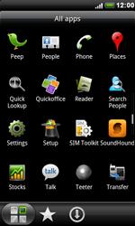 HTC S510e Desire S - Voicemail - Manual configuration - Step 3