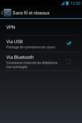 Bouygues Telecom Bs 351 - Internet et connexion - Utiliser le mode modem par USB - Étape 7